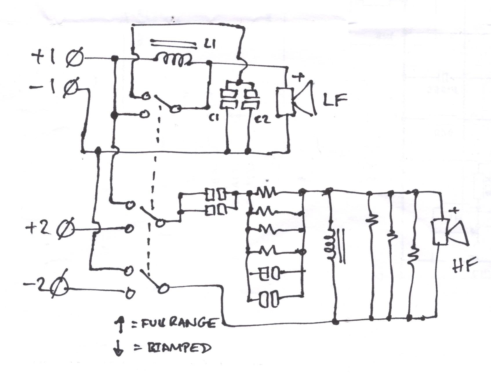 Jbl Sr4722 Wiring Question